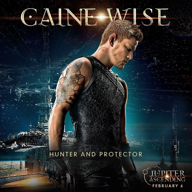 Channing Tatum is Caine in #JupiterAscending, in theaters now!