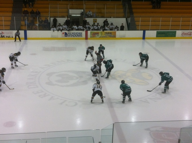 Hockey Game at University of Alberta