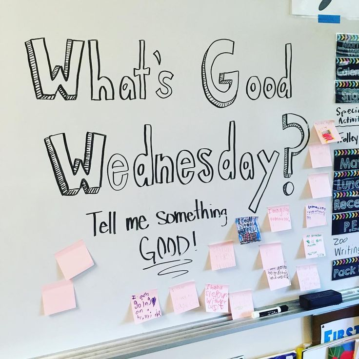 I like the idea of having What, When, Where, Why Wednesdays, so get students used to focusing on what is being asked.-P