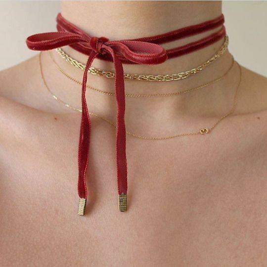 Pra inspirar: Chokers, combinações e decotes! - Fashionismo