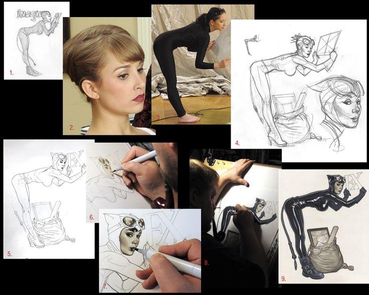 Imagine FX 67 How To by AdamHughes.deviantart.com on @deviantART.  http://adamhughes.deviantart.com/art/Imagine-FX-67-How-To-196343843