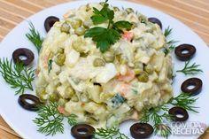 Receita de Maionese de legumes em receitas de saladas, veja essa e outras receitas aqui!