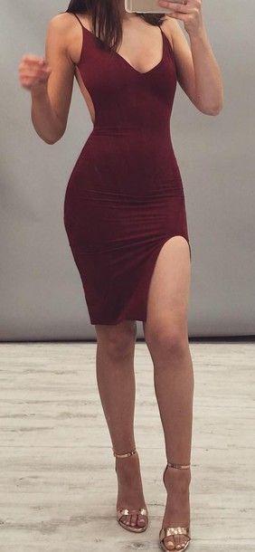 Sexy Short Party Dress, Sheath Short Prom Dress