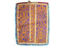 antike afghan Nomaden gestickte Geldbeutel beutel bag Portemonnaie Geldbörse N13