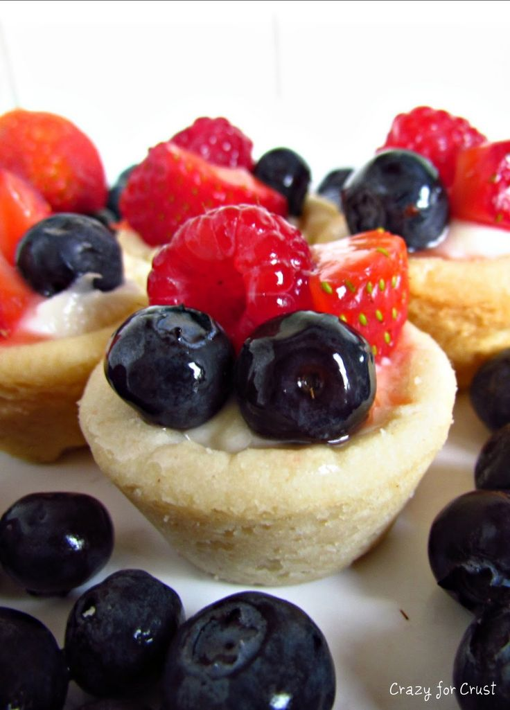 Guest Blogger and Mini Fruit Tarts