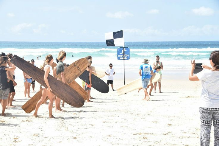 Wooden Alaia surfboards at Surfrider Foundation Eco Challenge