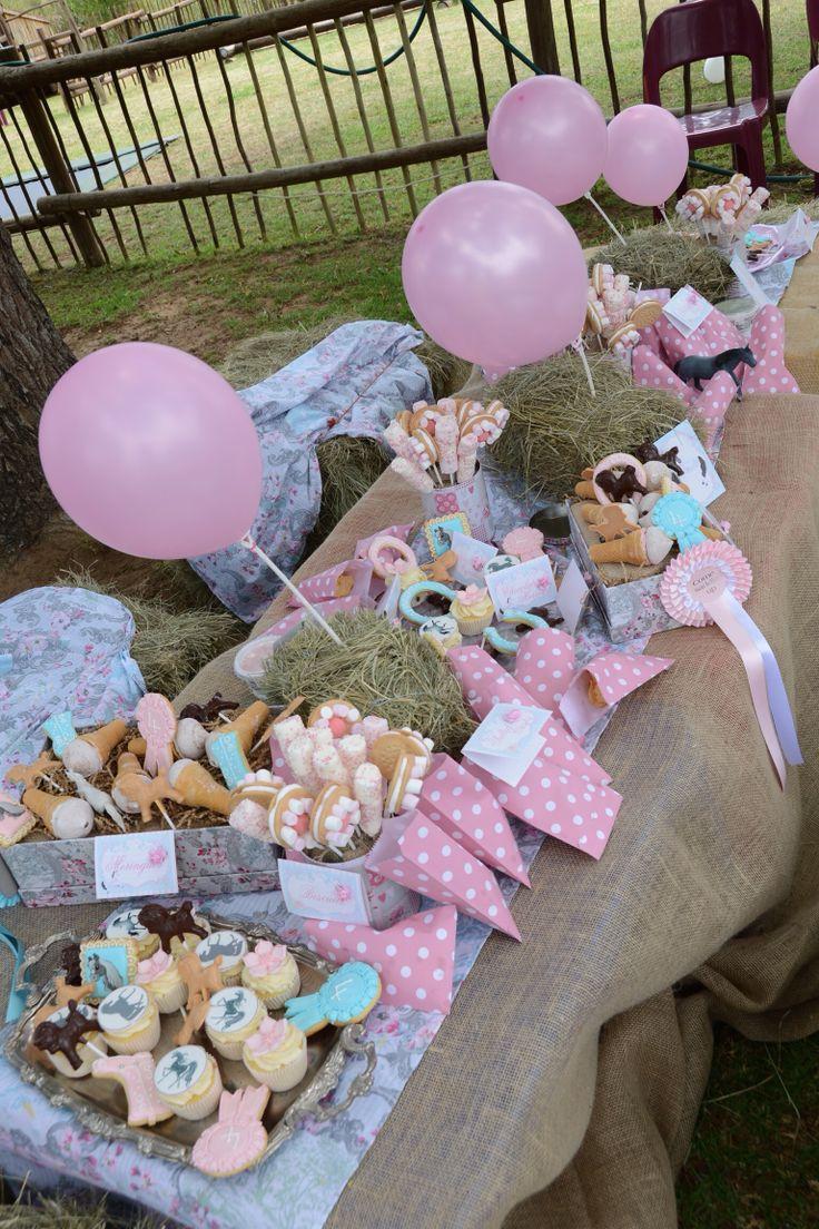 Vintage pony party! Leuk #idee voor een #meisjes #feestje