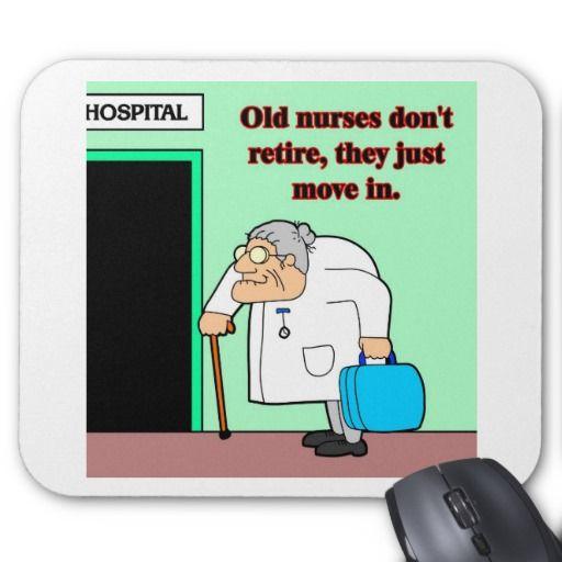 old nurses mousepads