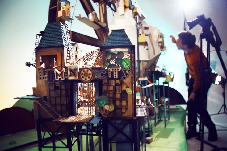 """Lumino City: A Handmade Paper Video Game by State of Play """"Lumino City, the entire video game was first handmade entirely out of paper, card, miniature lights and motors."""""""