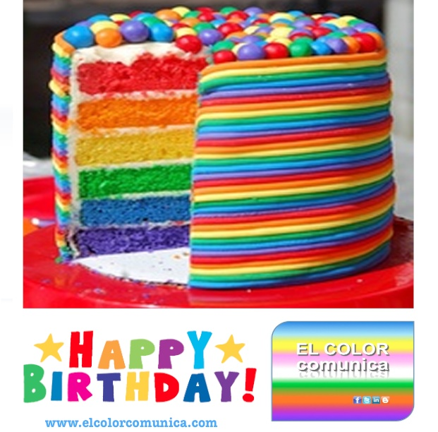 ¡Feliz Cumple! :-): Layered Cakes, Idea, Recipe, Rainbows Colors, Rainbow Cakes, Food, Colors Cakes, Rainbows Birthday Cakes, Rainbows Cakes