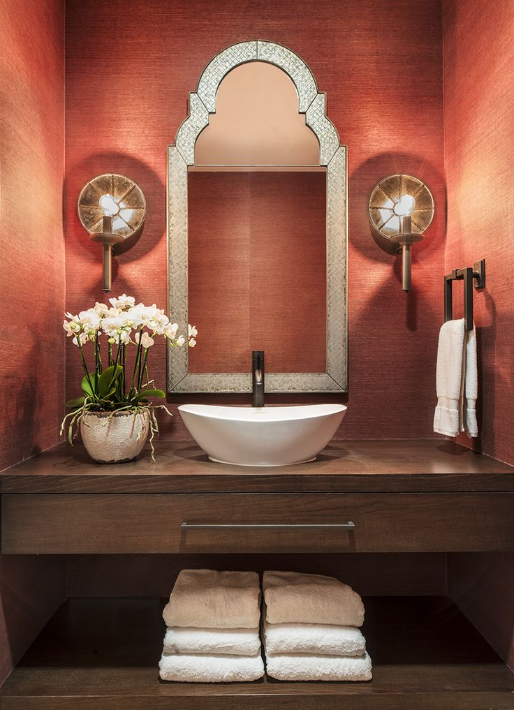 Sausalito Powder Room / Residential / Antonio Martins Interior Design / San  Francisco, CA