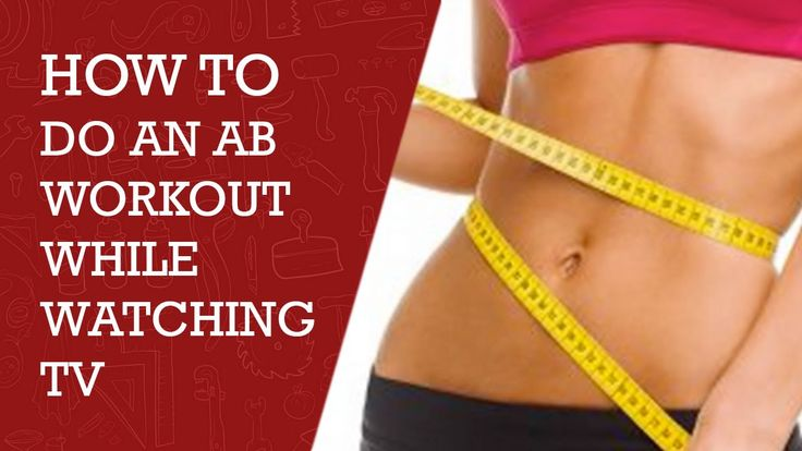 How to do Abs Workout during Watching TV | Best Abs Workout