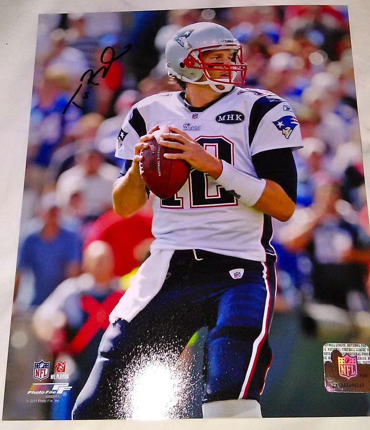 Tom Brady New England Patriots Autographed 8x10 Photograph