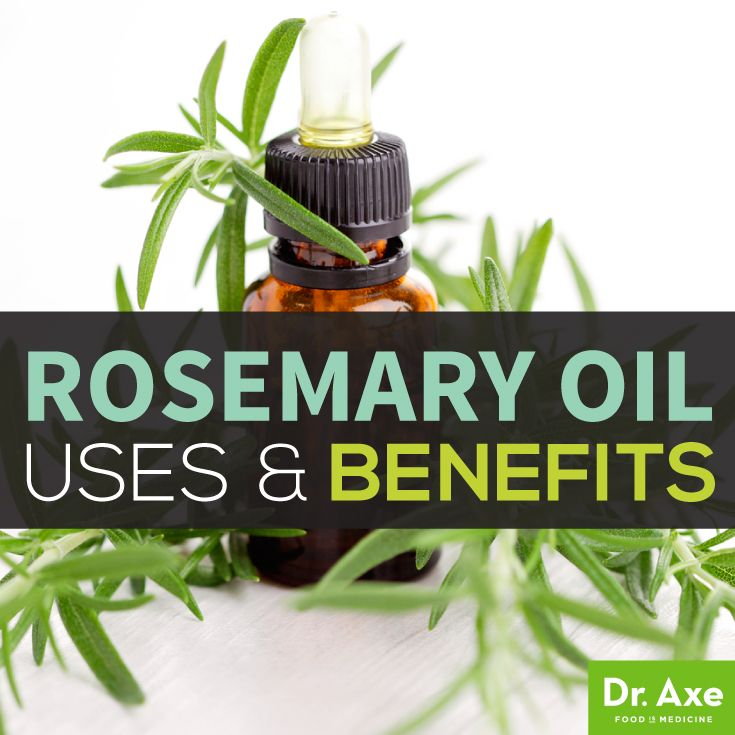 Rosemary oil benefits hair growth, improves memory, detoxes liver and gallbladder, and lowers cortisol.