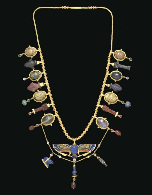 A COLLECTION OF EGYPTIAN AMULETS MIDDLE KINGDOM TO PTOLEMAIC - PERIOD, 2040-30 B.C. | Christie's