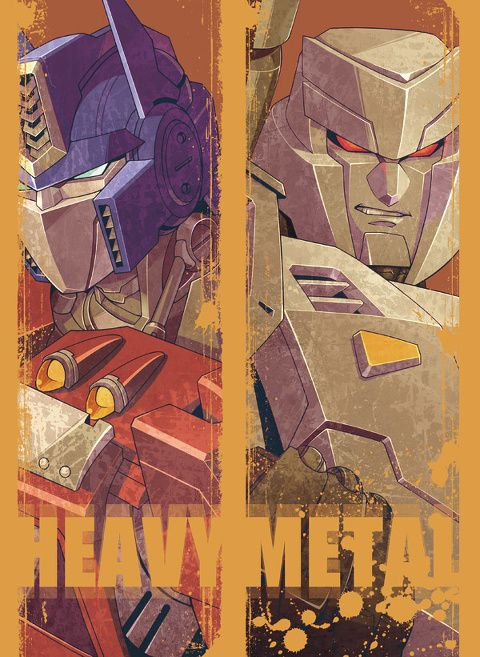 Optimus Prime & Megatron - Transformers
