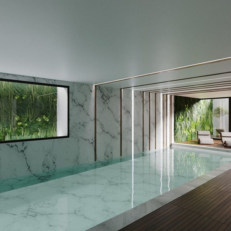 Swimming pool project by thespace
