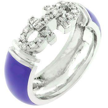Purple Enamel Bling Ring (size: 10)   http://atomicfleamarket.com/purple-enamel-bling-ring-size-p-11057.html