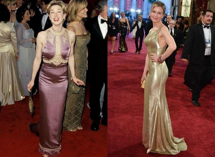 Celebrity na Oscarech tehdy a nyní - Renée Zellweger