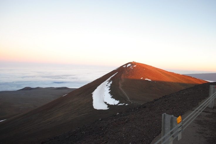 The peak of Mauna Kea. Out of respect to native Hawaiians ...