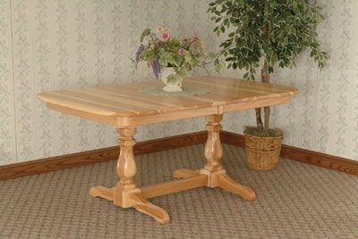 17 Best Images About Amish Trestle Table On Pinterest