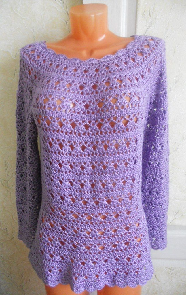 17 Best images about FREE CROCHET WOMANS CLOTHES PATTERNS ...
