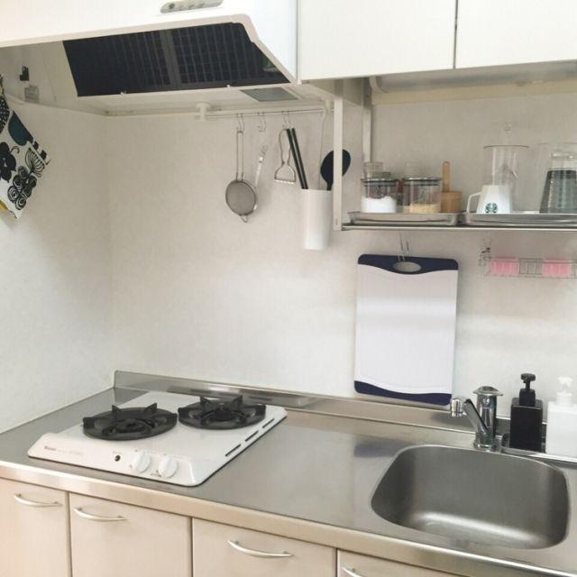 キッチン キッチンツール 水切り棚 一人暮らし 無印良品 などの