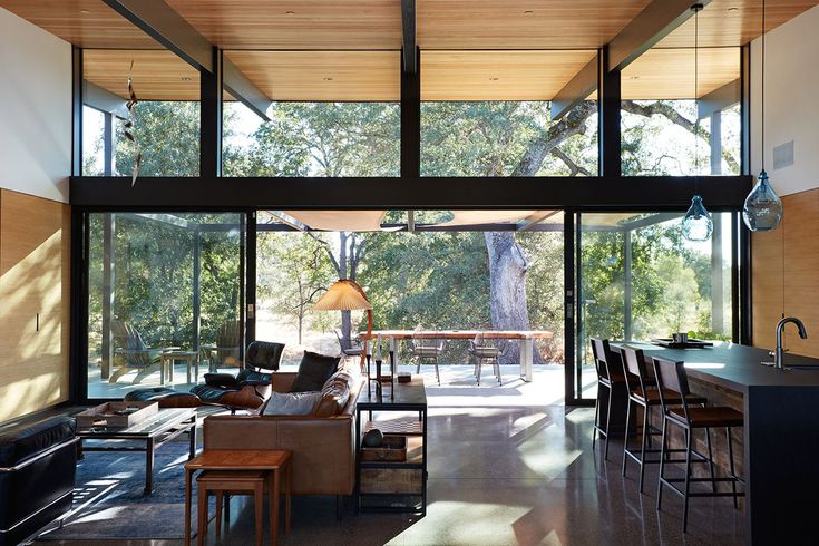Midcentury-inspired California home is an indoor-outdoor dream - Curbed