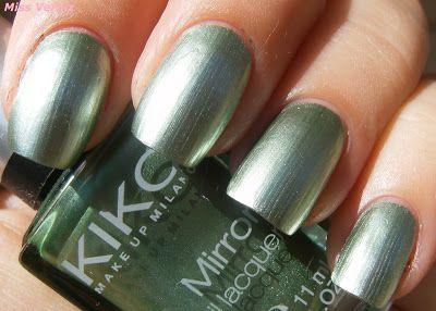 Kiko efecto espejo 626 lawn green own pinterest - Pintaunas kiko efecto espejo ...