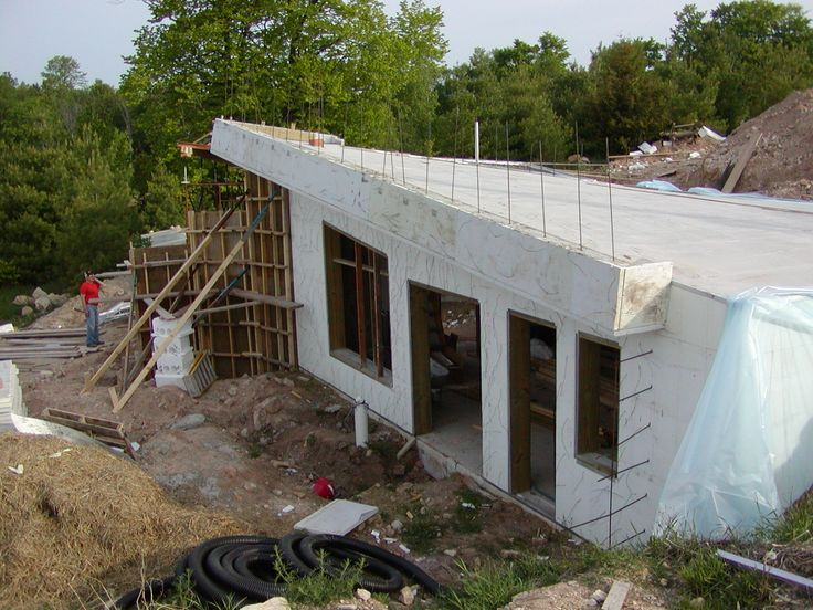 443 best images about houses built hurricane and storm for Icf basement construction