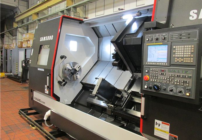 Samsung PL45LY CNC lathe in stock