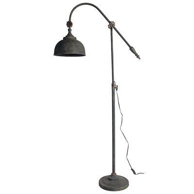 Arris Adjustable-Arm Floor Lamp (168cm).