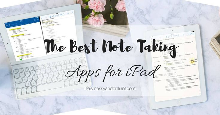 The Best College Note Taking Apps for iPad Apple produkte