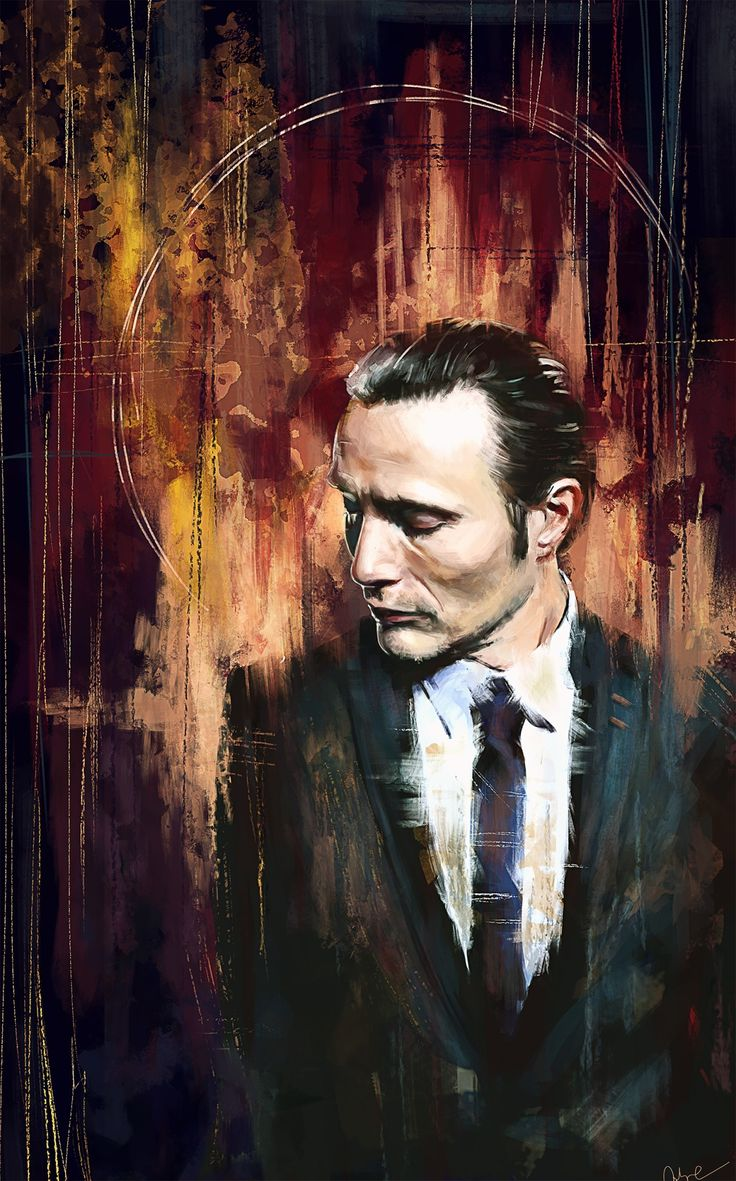 Dr. Hannibal Lecter by Wisesnail