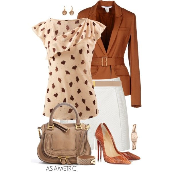 A fashion look from August 2014 featuring Diane Von Furstenberg blazers, Reiss shorts and Christian Louboutin pumps. Browse and shop related looks.