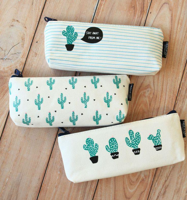 Cactus Pen bags