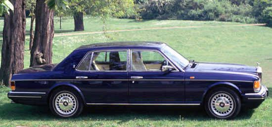"""""""New"""" Rolls-Royce Silver Spur, 1996, #SCAZNI2CXTCX57469. Though it might have been logical to name the successor to the Silver Spur III the Rolls-Royce Silver Spur IV the company decided to use the term """"New"""" R-R Silver Spur - and after some time had passed the car was simply referred to as R-R Silver Spur."""