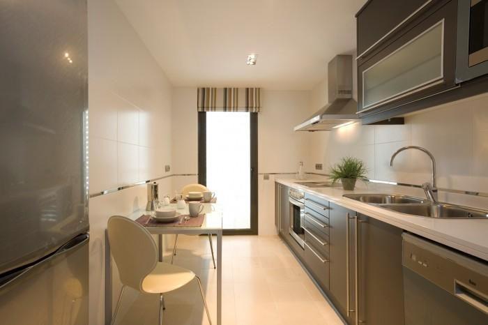 Decoraci n de cocinas peque as modernas para m s for Cocinas integrales modernas pequenas