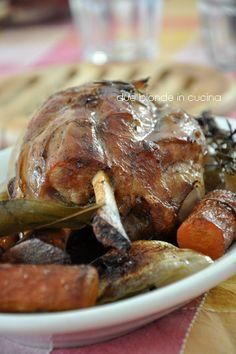 Due bionde in cucina: Stinco di maiale arrosto