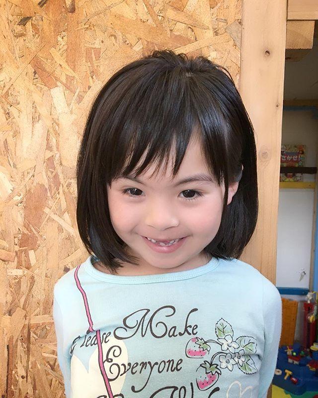 女の子のショートの髪型特集 子供にはショートボブが似合う Lovely ラブリー ショートボブ ボブ 髪型