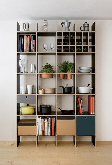 Shelving   Kitchen furniture   FNP Kitchen   Moormann   Axel. Check it out on Architonic
