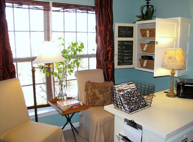 Small Office Organization Ideas From Goodbye, House. Hello, Home!  Homemaking, Interior