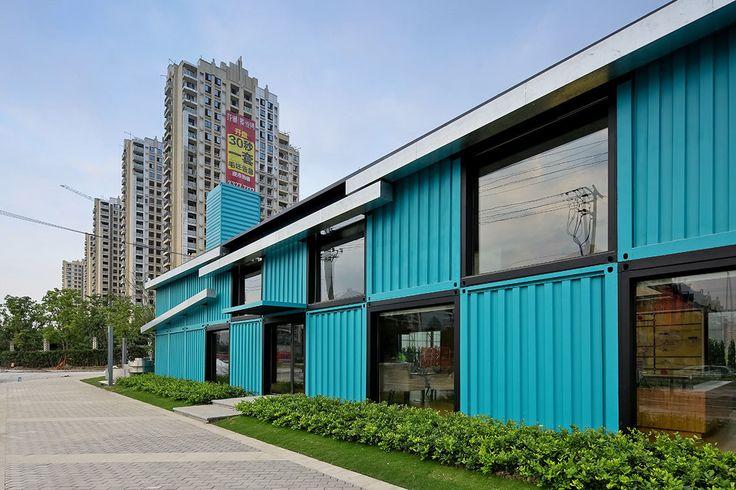 Galerie k příspěvku: Kontejnerové kanceláře v Šanghaji   Architektura a design   ADG
