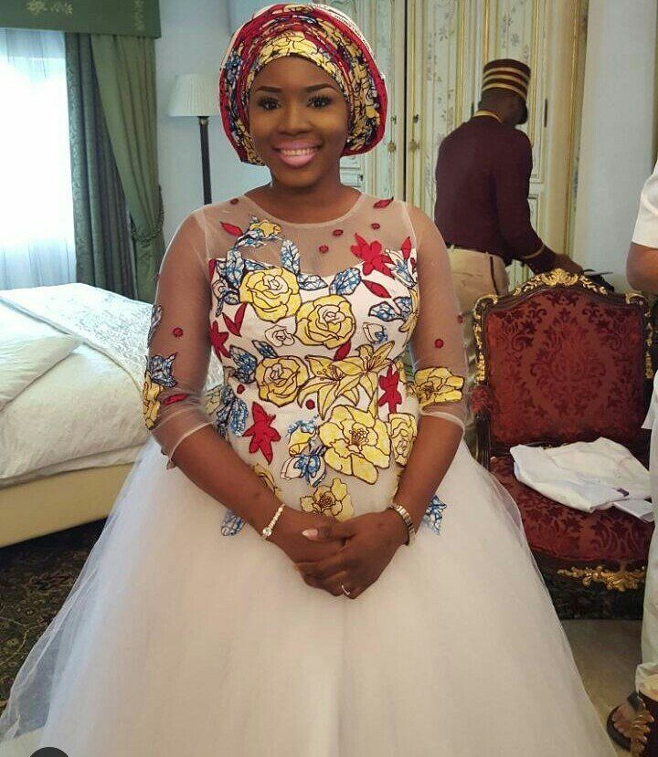 Hello divas, Ankara bridal wedding dresses is another way to rock ankara print, ankara still remain The Ankara print has widely been attributed to Africa