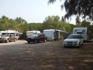 Free camping - Saunders Beach, Queensland, Australia