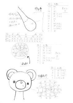 japanese free pattern japanische Anleitung kostenlos Amigurumi