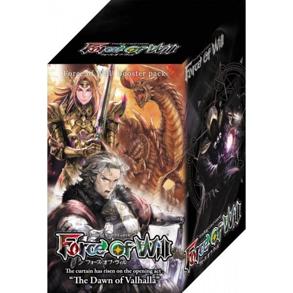 Force Of Will - The Dawn of Valhalla Box (15 buste) ITA