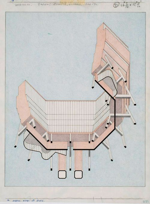 Queens College, Oxford University (James Stirling, 1966-71)
