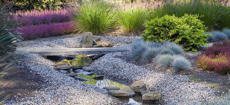 Heather garden in modern style. Photo by Tomek Ciesielski