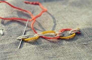 Петельный шов - как сделать пошагово с видео. Как обметать ткань или вышивать петельным стежком вручную